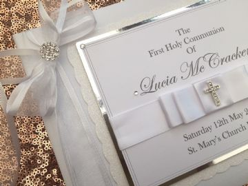 Personalised First Holy Communion Guest Book